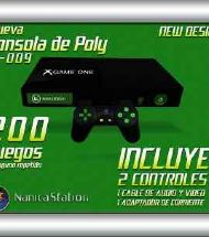 CONSOLA GAME X-ONE 360 SLIM NC-009 (200 JUEGOS)