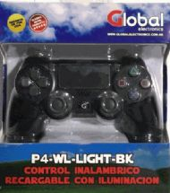 JOYSTICK GLOBAL INALAMBRICO PS4 CON ENTRADA DE AURICULAR